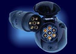 ...Электрооборудование Подключение фаркопа Подключение проводки розетки фаркопа прицепа к электрической схеме.